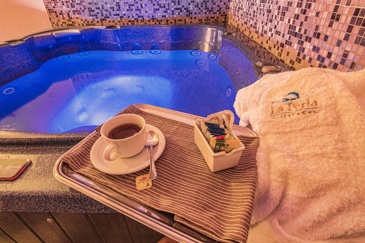 Bañera de hidromasaje Hotel La Perla
